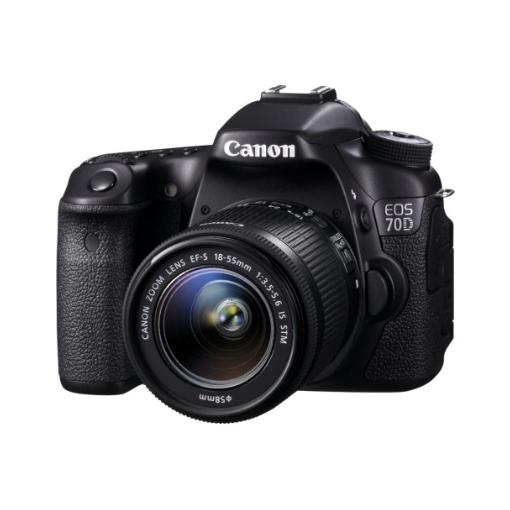 Canon EOS 70D (W) Kit 1855 STM