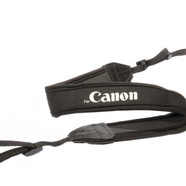 Плечевой шейный ремень для камер CANON - неопрен