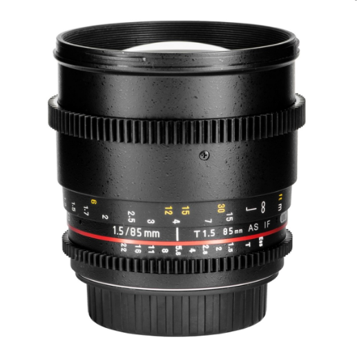 Samyang 85mm T1.5 AS IF UMC VDSLR (Nikon)