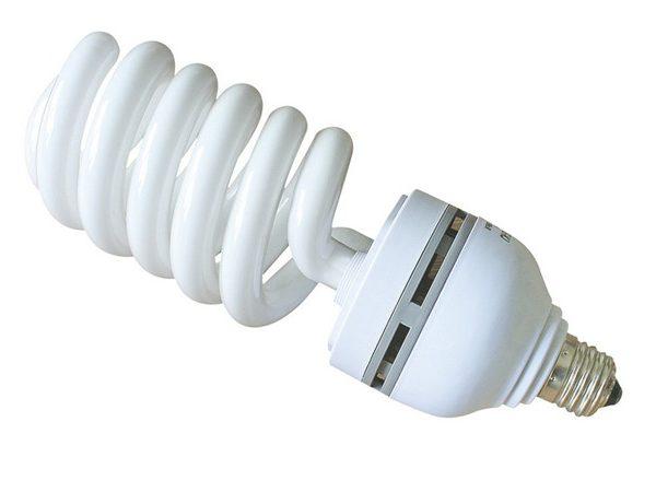 Лампа постоянного света 55W