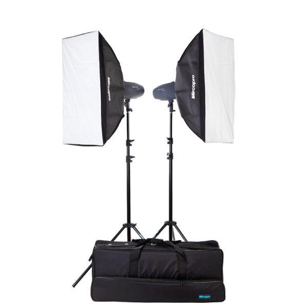 Набор студийного света Mircopro MQ-150S софтбоксы