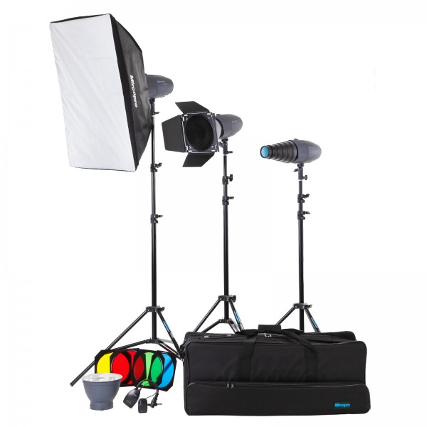 Набор студийного света Mircopro MQ-200 unique kit