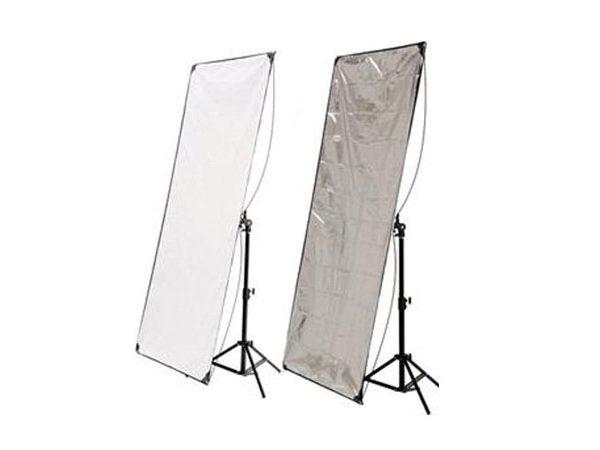 Панель для отражателя Hyundae Photonics White/Metal Silver 80х120см