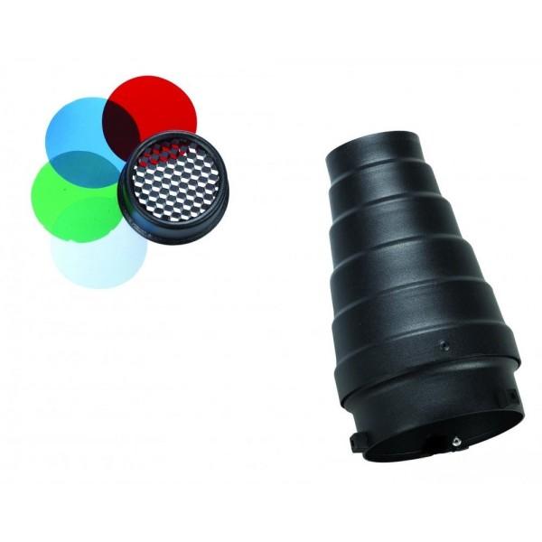 Тубус с сотами и фильтрами Mircopro SN-303