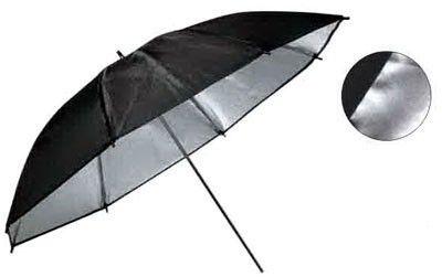 Зонт Weifeng UR 02 85см черно/серебристый