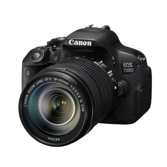 Canon EOS 700D Kit 18-135 STM