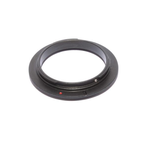 Реверсивный макро адаптер Canon EOS 58мм, кольцо