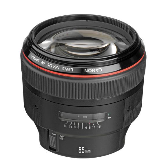 Canon EF 85mm f1.2 USM