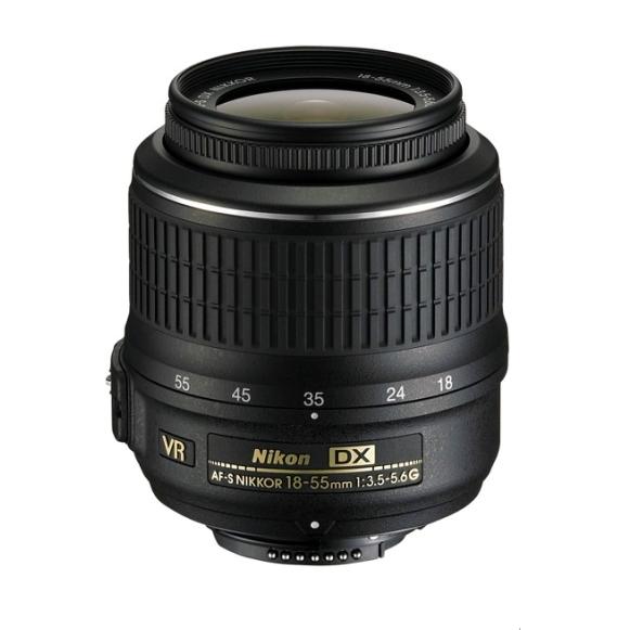 Nikon AF-S 18-55mm f3.5-5.6G VR II