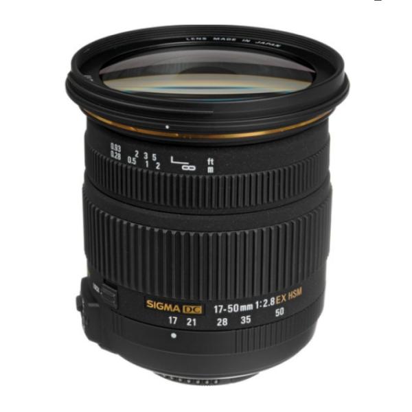 Sigma 17-50mm f2.8 EX DC OS HSM Canon