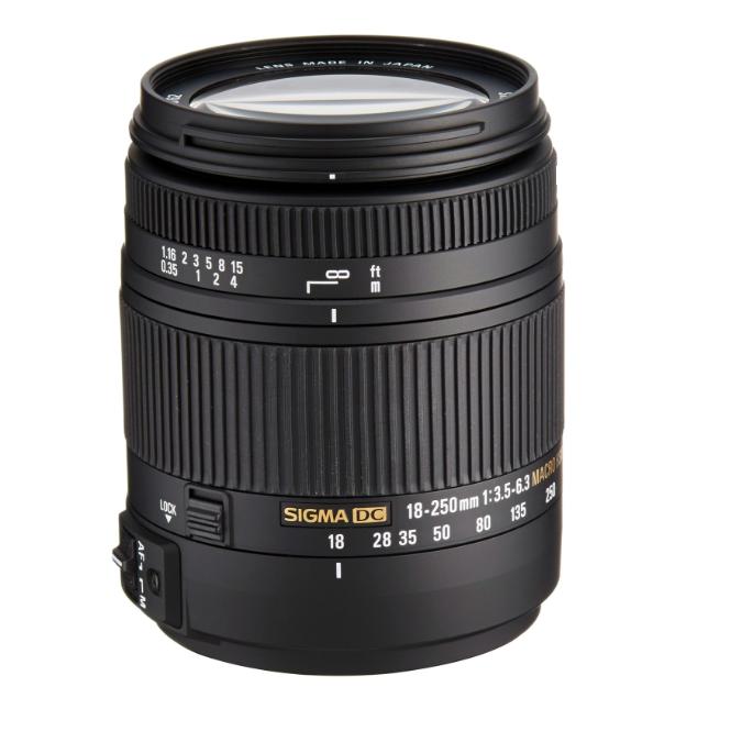 Sigma 18-250mm F3.5-6.3 DC MACRO OS HSM (Canon)