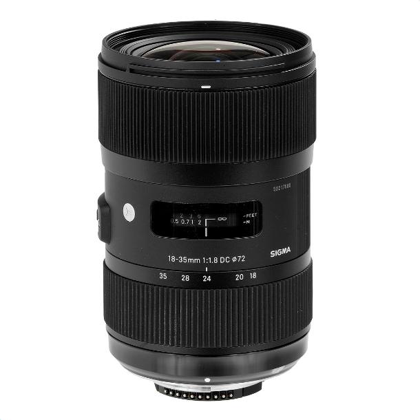 Sigma 18-35mm f1.8 DC HSM Nikon