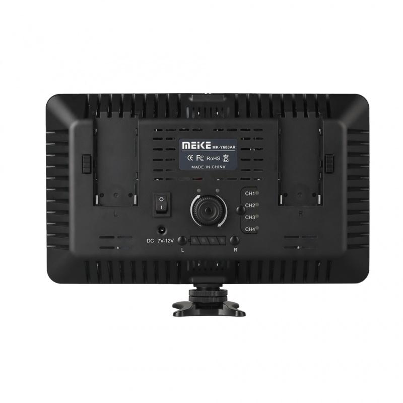 Видео свет LED Meike Y600AR