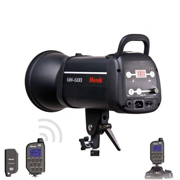 Вспышка студийная Menik GM-1200 (1200 Дж) Рефлектор в комплекте