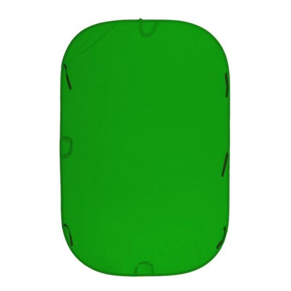 Фон двухсторонний складной Lastolite 1,8x2,1 м Chromakey Green ткань (5981)