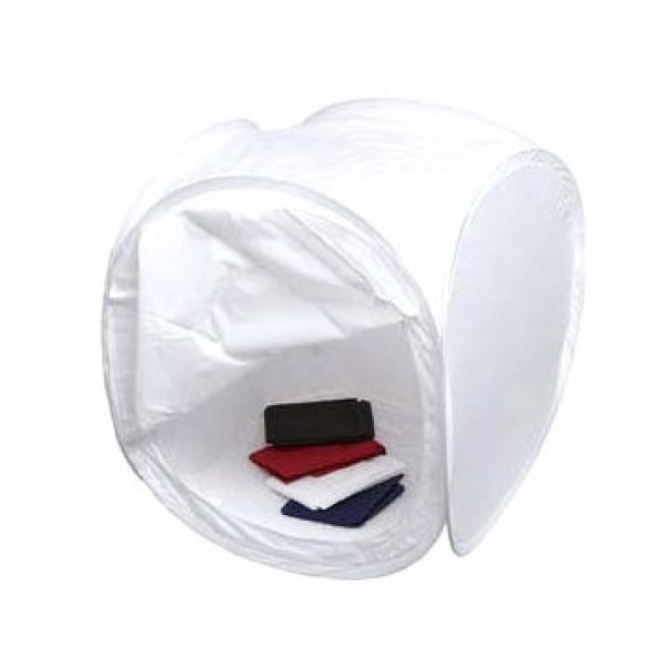 Лайт куб Mircopro LT-011 50х50х50см белый с 4 фонами