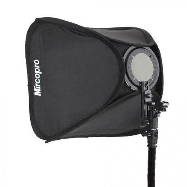 Софтбокс Mircopro Easy Box EB-061 60х60см для накамерных вспышек