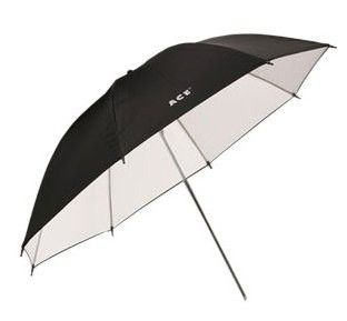 Зонт Hyundae Photonics 110 см черно/белый