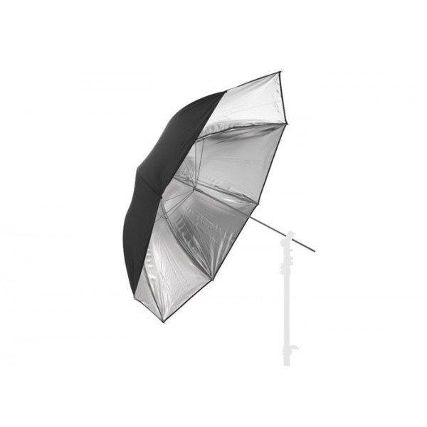 Зонт Lastolite Essential 100 см черно/серебристый