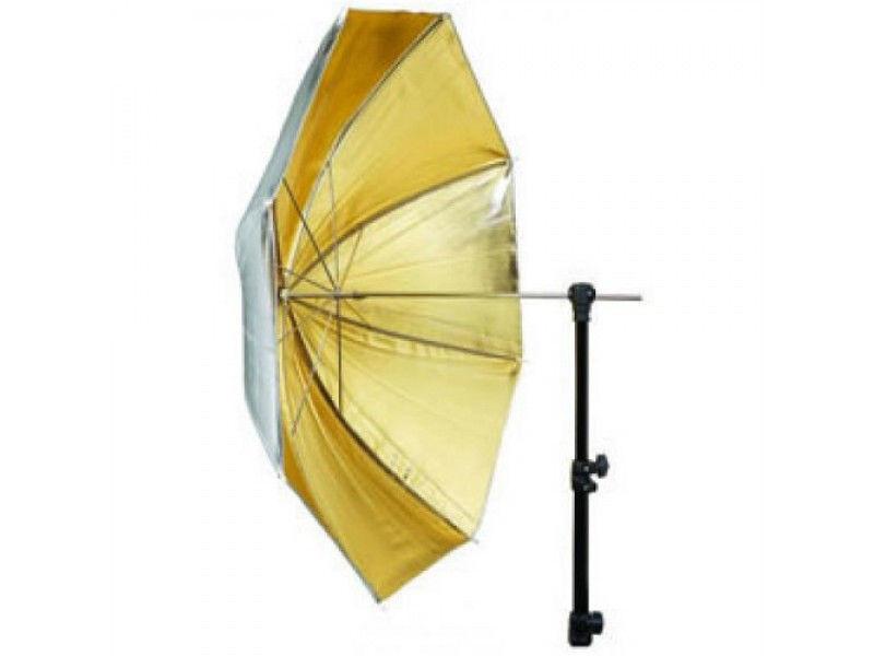 Зонт Mircopro UB-005G золото/серебро 85см
