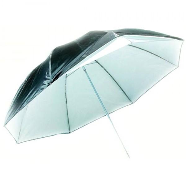 Зонт Photex UR 08 (параболический) 185см черно/серебристый
