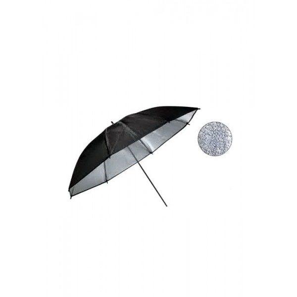Зонт Weifeng UR 03 85 см черно/серебристый
