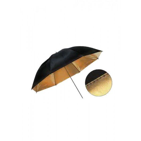 Зонт Weifeng WOS3004 85см черно/золотистый